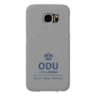 Logotipo apilado ODU - azul Funda Samsung Galaxy S6