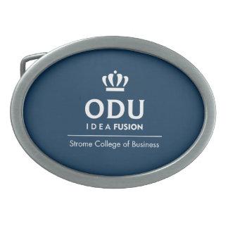Logotipo apilado ODU Hebillas Cinturón Ovales