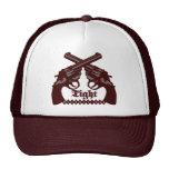 Logotipo apretado de las producciones gorras