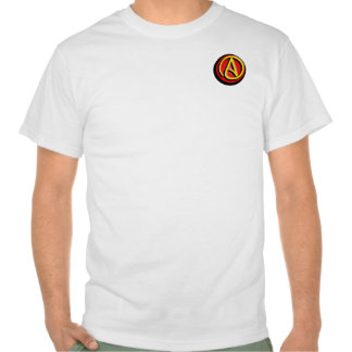 Logotipo ateo playera