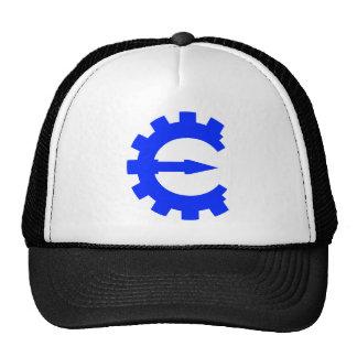 Logotipo azul básico gorra