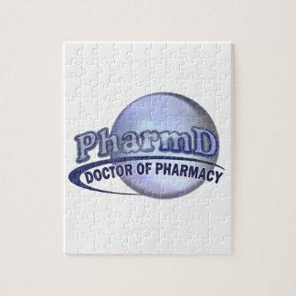 LOGOTIPO AZUL de PharmD - el DOCTOR OF PHARMACY Puzzle Con Fotos