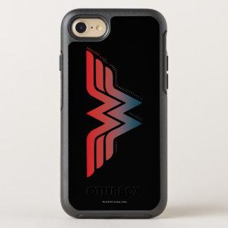Logotipo azul rojo de la pendiente de la Mujer Funda OtterBox Symmetry Para iPhone 7