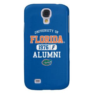 Logotipo azul y anaranjado de UFL de los alumnos Funda Para Galaxy S4