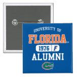 Logotipo azul y anaranjado de UFL de los alumnos Pin