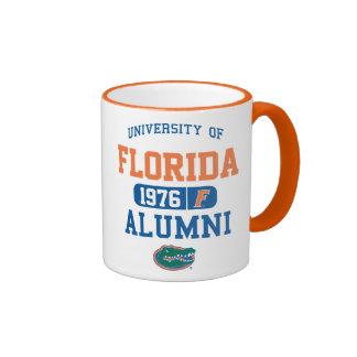 Logotipo azul y anaranjado de UFL de los alumnos Tazas De Café
