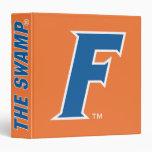 """Logotipo azul y blanco de la Florida F Carpeta 1 1/2"""""""