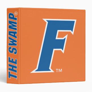 Logotipo azul y blanco de la Florida F