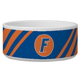 Logotipo azul y blanco de la Florida F Boles Para Gatos