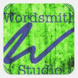 Logotipo azulverde de WSS