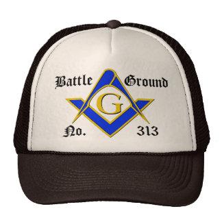Logotipo básico de 3 colores gorras de camionero
