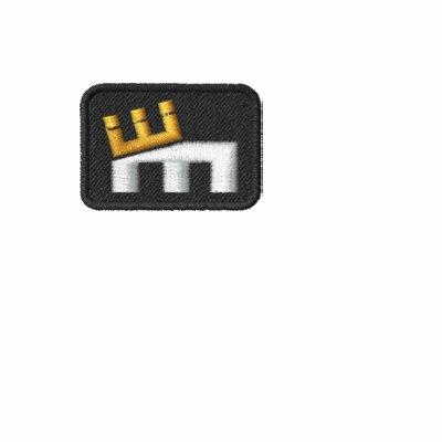 """Logotipo básico de """"M"""" del cm (frente y parte post"""