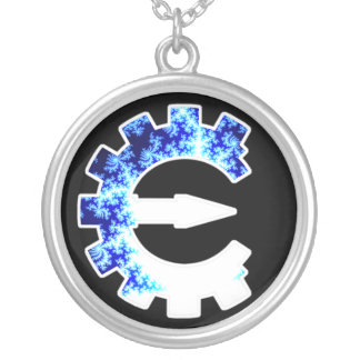 Logotipo básico del fractal joyeria