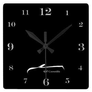 Logotipo blanco convertible de la pincelada G37 Relojes