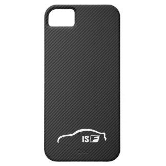 Logotipo blanco de la pincelada de ISF iPhone 5 Case-Mate Cobertura