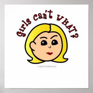 Logotipo - Blonde Póster