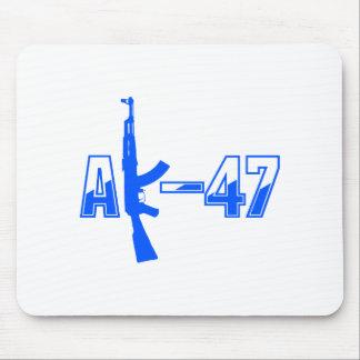 Logotipo Blue.png del rifle de asalto de AK-47 AKM Alfombrilla De Raton