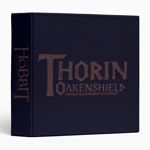 """Logotipo Brown de THORIN OAKENSHIELD™ Carpeta 1 1/2"""""""
