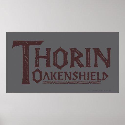 Logotipo Brown de THORIN OAKENSHIELD™ Impresiones