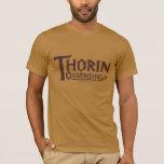 Logotipo Brown de THORIN OAKENSHIELD™ Playera