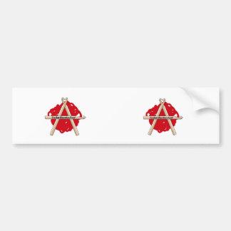 Logotipo Bumpersticker de CLF Pegatina Para Auto