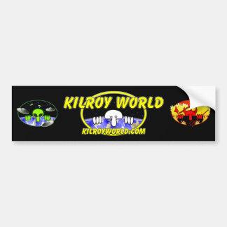 Logotipo Bumpersticker de Kilroyworld Pegatina Para Auto
