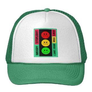 Logotipo cambiante de la luz de parada gorras