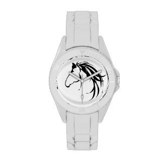 Logotipo clásico de la cabeza de caballo para todo reloj de mano