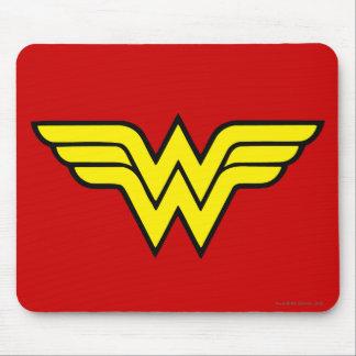 Logotipo clásico de la Mujer Maravilla el   Alfombrilla De Ratones