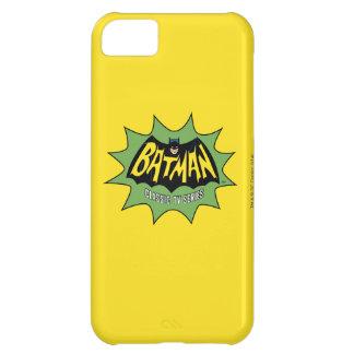 Logotipo clásico de la serie televisiva de Batman Carcasa iPhone 5C
