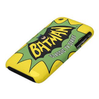 Logotipo clásico de la serie televisiva de Batman Carcasa Para iPhone 3