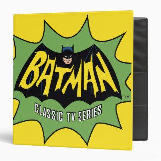 """Logotipo clásico de la serie televisiva de Batman Carpeta 1 1/2"""""""