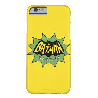 Logotipo clásico de la serie televisiva de Batman Funda Barely There iPhone 6