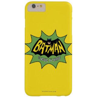 Logotipo clásico de la serie televisiva de Batman Funda Barely There iPhone 6 Plus