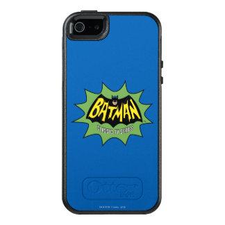 Logotipo clásico de la serie televisiva de Batman Funda Otterbox Para iPhone 5/5s/SE