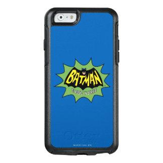 Logotipo clásico de la serie televisiva de Batman Funda Otterbox Para iPhone 6/6s