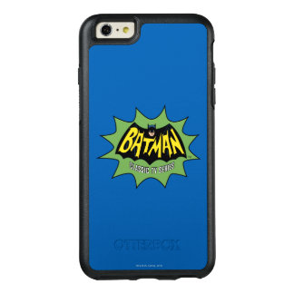 Logotipo clásico de la serie televisiva de Batman Funda Otterbox Para iPhone 6/6s Plus