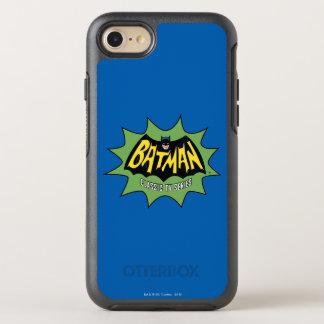 Logotipo clásico de la serie televisiva de Batman Funda OtterBox Symmetry Para iPhone 7