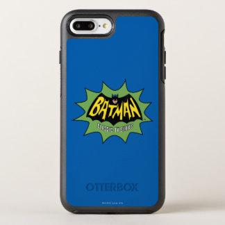 Logotipo clásico de la serie televisiva de Batman Funda OtterBox Symmetry Para iPhone 7 Plus