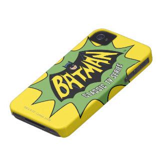 Logotipo clásico de la serie televisiva de Batman Funda Para iPhone 4