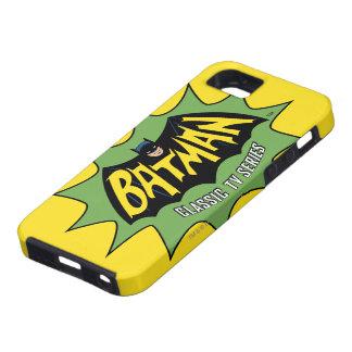 Logotipo clásico de la serie televisiva de Batman Funda Para iPhone SE/5/5s