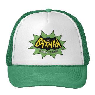 Logotipo clásico de la serie televisiva de Batman Gorra