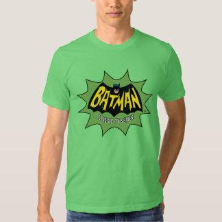 Logotipo clásico de la serie televisiva de Batman Poleras