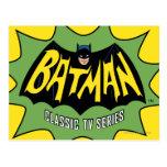 Logotipo clásico de la serie televisiva de Batman Postal