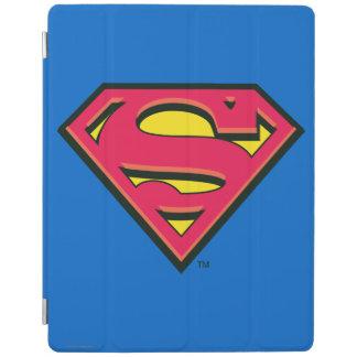 Logotipo clásico del S-Escudo el | del superhombre Cover De iPad