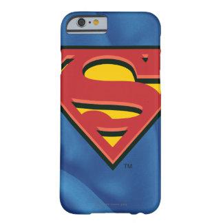 Logotipo clásico del S-Escudo el | del superhombre Funda Barely There iPhone 6