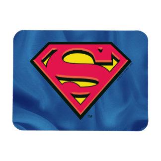 Logotipo clásico del S-Escudo el | del superhombre Imanes De Vinilo
