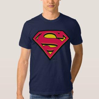 Logotipo clásico del S-Escudo el | del superhombre Remera