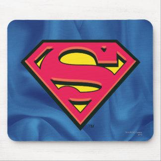 Logotipo clásico del S-Escudo el | del superhombre Tapetes De Raton