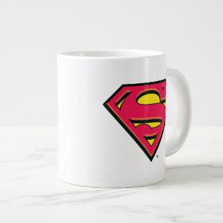 Logotipo clásico del S-Escudo el | del superhombre Taza Grande